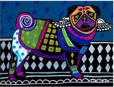 Abstract pug 1