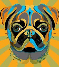 Abstract pug 2