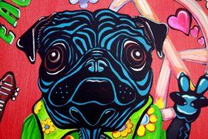 Abstract pug 3